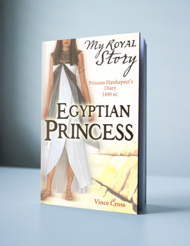 Egyptian Princess by Author Vince Cross