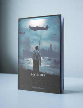 Front cover of 'Hero at Dunkirk', a story by author Vince Cross
